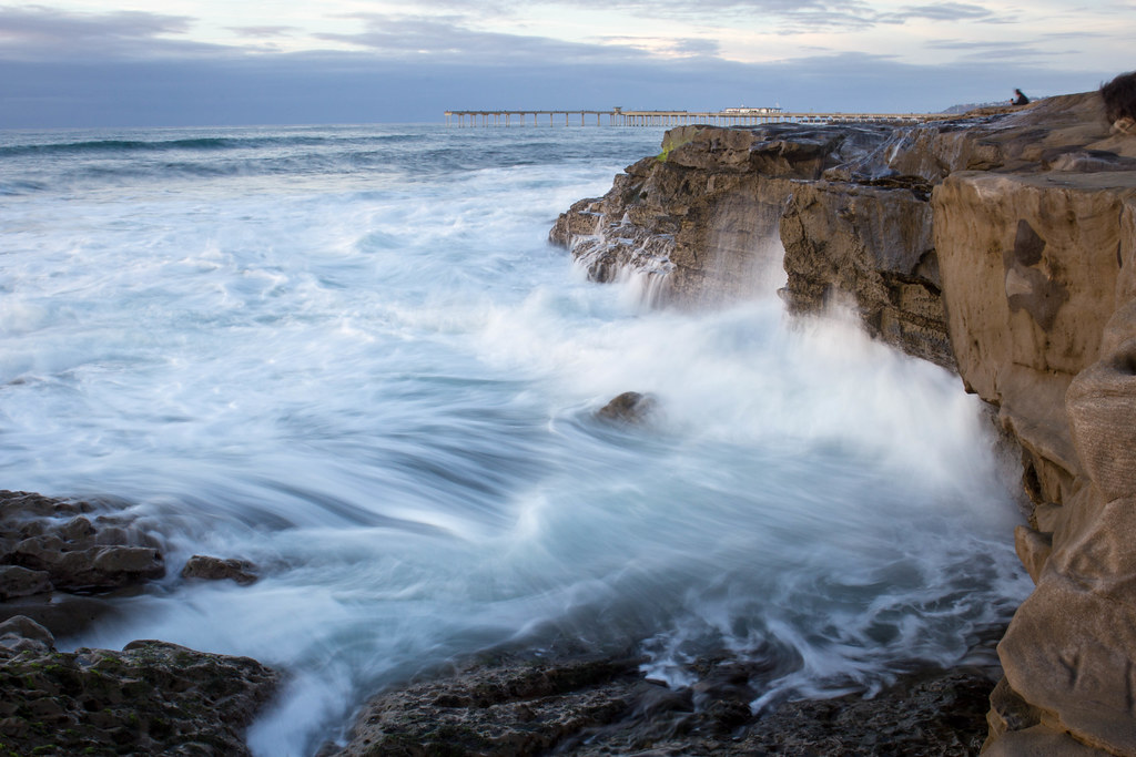 Waves on the Rocks at Ocean Beach [Explored]