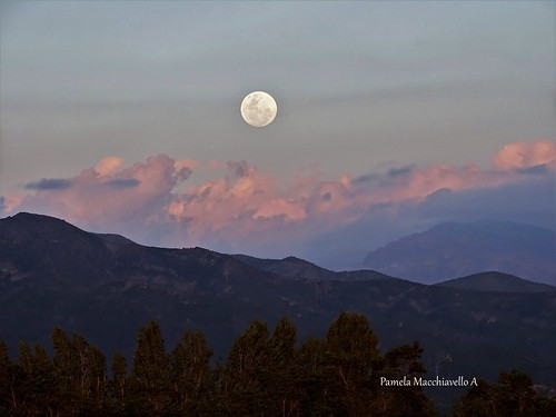 moon cloud mountain andes