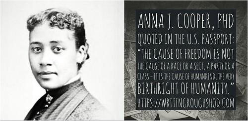 ANNA J. COOPER #100travelHERS | by sandrakaybee