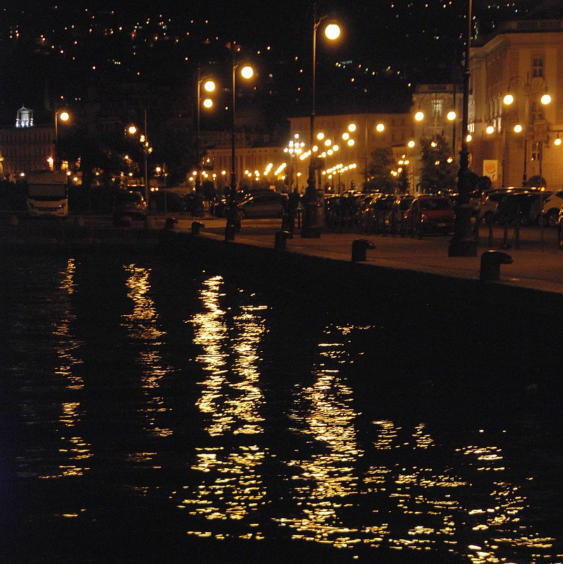 Trieste - Reflecting on a Beautiful City at Night...