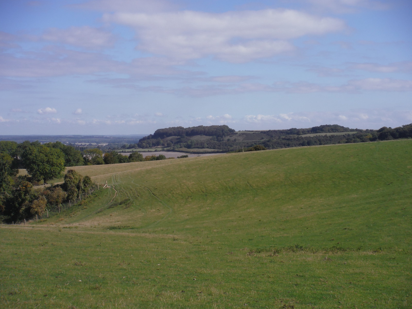 Sharpenhoe Clappers from Sundon Hills (II) SWC Walk 230 Harlington to Flitwick