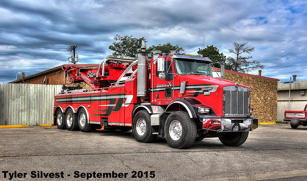 Santa Fe Tow >> Santa Fe Tow Truck Santa Fe Tow Recovery Rotator Picture I Flickr