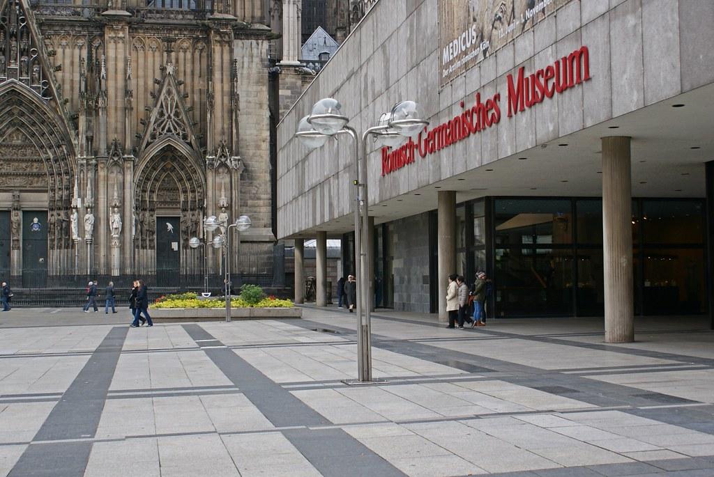 Römisch Germanisches Museum Köln Umbau