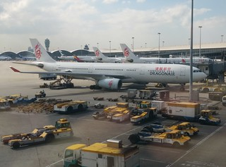 Aircraft at Hong Kong International Airport | by Isofarro