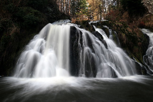 aberdeen aberdeenshire fallsofdess waterfall scotland flickr le longexposure landscape