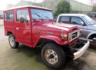 Toyota Land Cruiser J40 | by Spottedlaurel