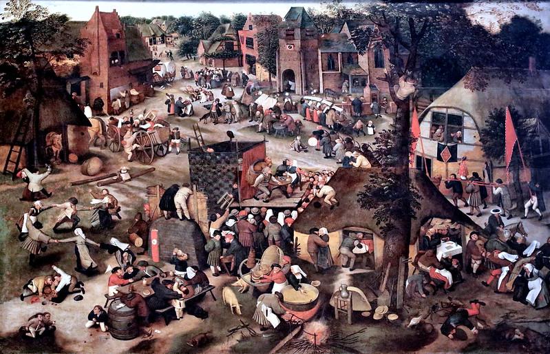 IMG_2527AB Pieter Brueghel II 1565 1638. Antwerp. Kermesse. Brussels.
