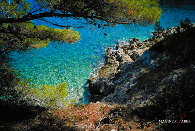 The sea in Histria, Croatia