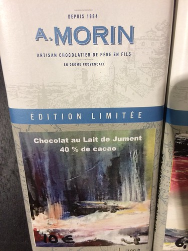 A Morin horse chocolate milk - Salon du Chocolat | by sela-v