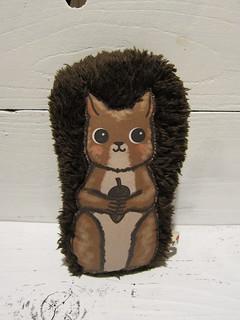 Brown Squirrel Plush