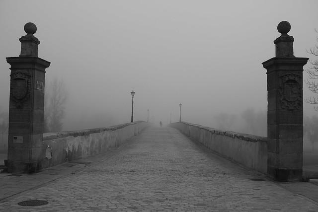 Bajo la niebla / Under the fog.