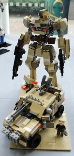 Lego sand storm
