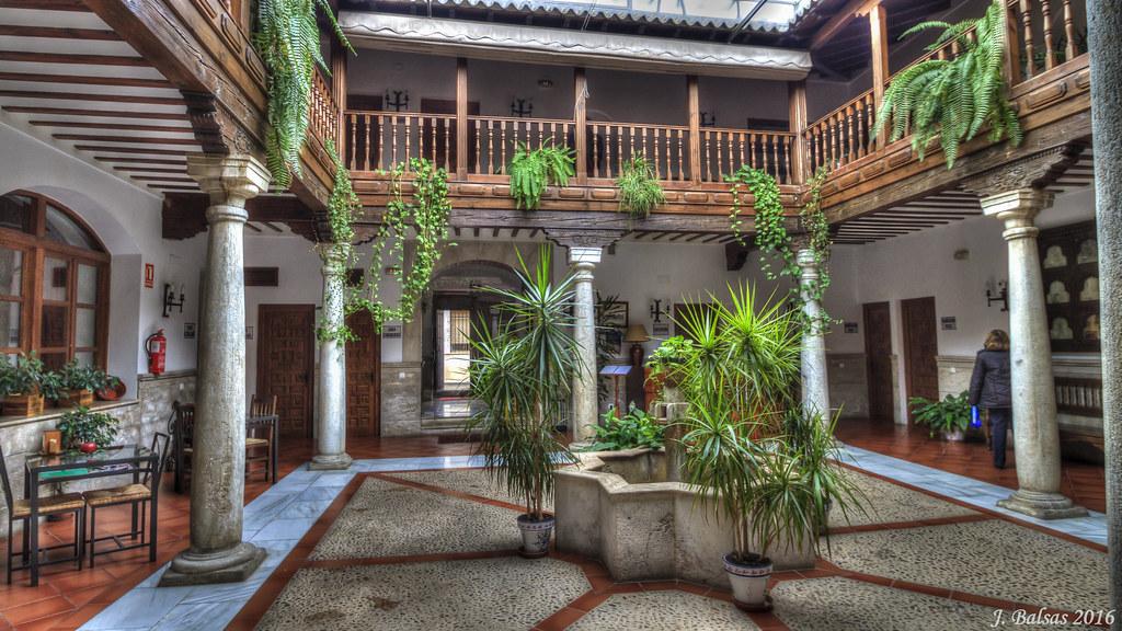 0159 Hotel Casa Palacio Santa Cruz De Mudela José Balsas García Flickr