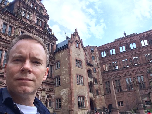 David Pflieger at Heidelberg castle | by David Pflieger