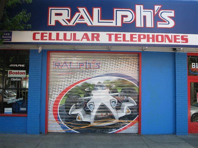 Ralphs door wrap Retail and PoP