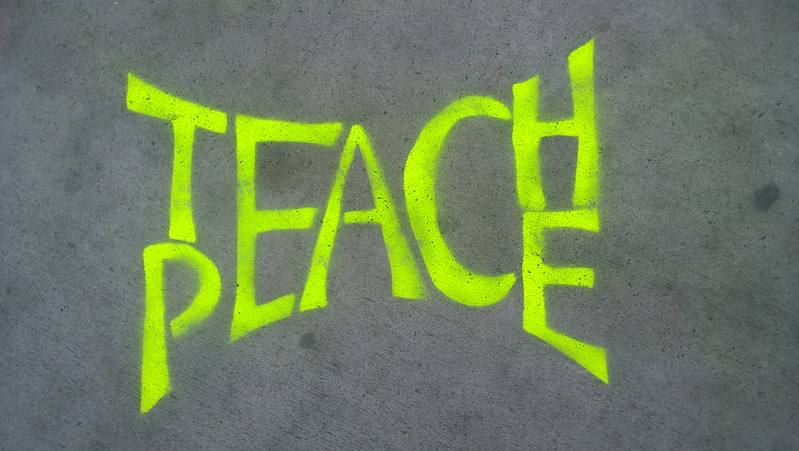 """Teach Peace"" Paris 2015"