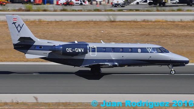 OE-GWV - Private - Cessna 560XL Citation Excel - PMI/LEPA