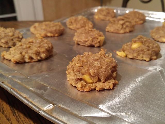 Schoolroom Apple Cookies