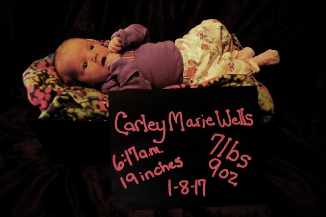 Carley Marie Wells and Carson Wells