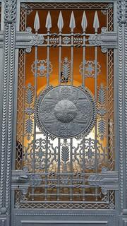 Castle's gate, Riga.