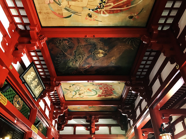 The Ceiling of Sensoji Temple