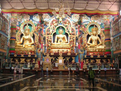 Inside Buddha Vihara pagoda
