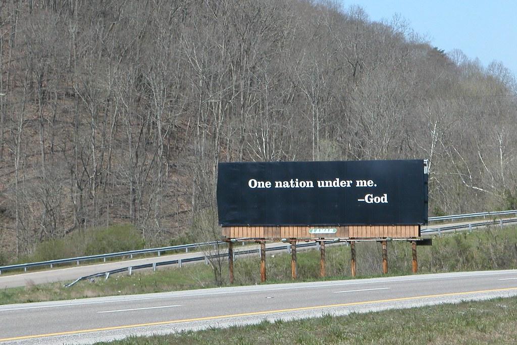 上帝的广告牌 : God's Billboard