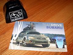 Subaru Jersey Promo Card