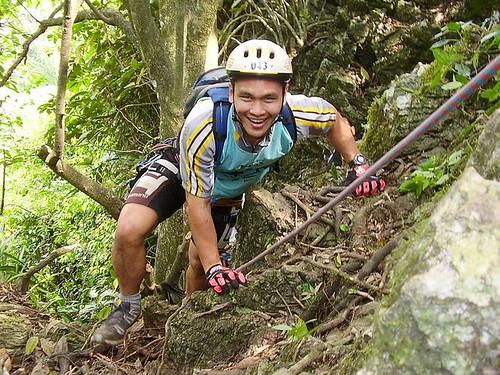 After 12 m climb