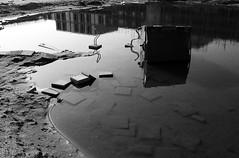 submerged tiles