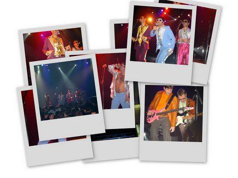 Collage Live Bataclan 2004