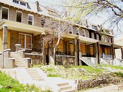 Rowhouses, 1000 block of Third Street NE, Washington, DC