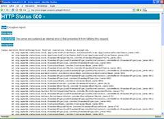 Blogger: HTTP Status 500