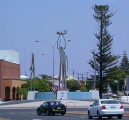 Roundabout sculptures