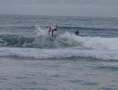 Surfing at Praia Ferrugem