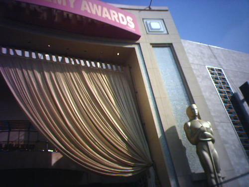 I am On the Oscar Carpet