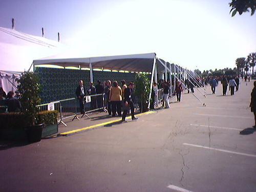 The   Press Tent
