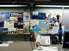 In my office