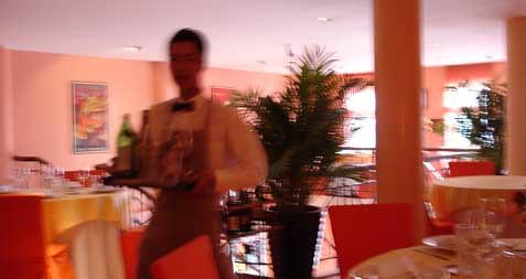 Le Bordeaux waiter
