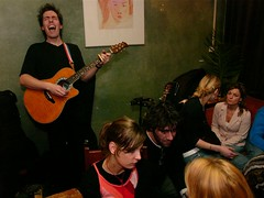 Arthur ten Cate playing at Wils Cafe, Amsterdam by Uruandimi