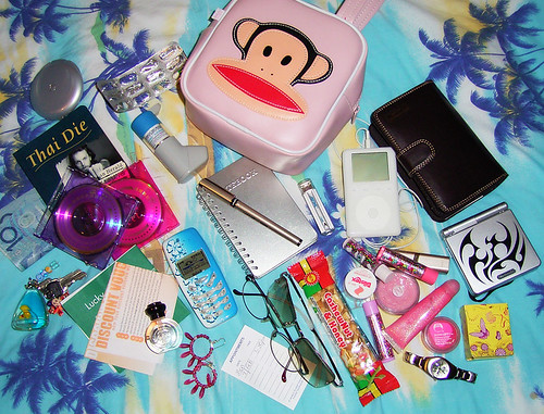 What's In my bag | by Nikita Kashner