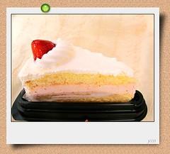 全家便利商店所推出的草莓蛋糕35元