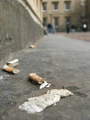 Street detritus