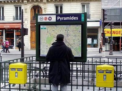 Metro Pyramides