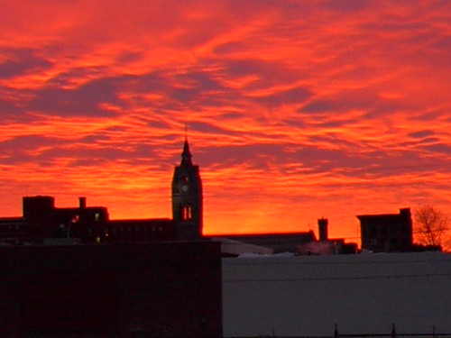 massachusetts holyoke sunrise