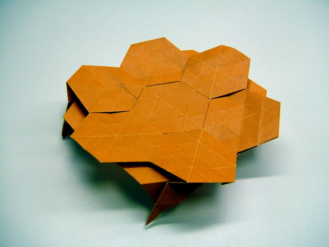 Easy Origami Container / Origami Paper Bowl / Origami Candy Dish ... | 480x640