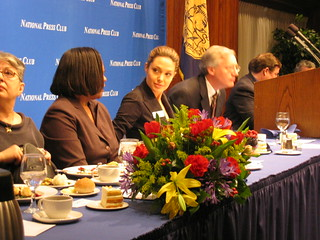 Angelina Jolie at the National Press Club | by queenkv