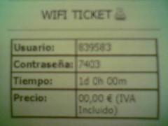 WiFi en el hotel (2)
