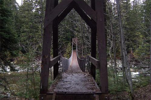 Cal-Cheak Suspension Bridge