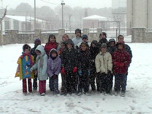 Nieve en Cartuja